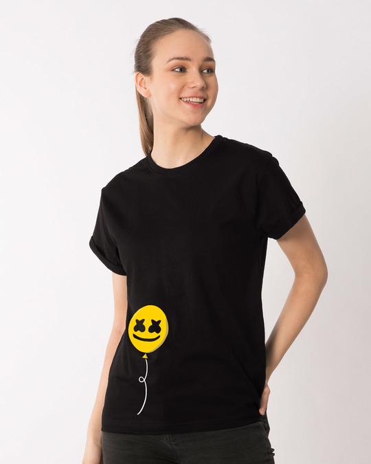 Shop Happier Balloon Boyfriend T-Shirt-Back