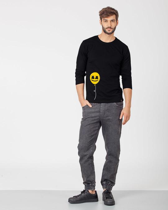 Shop Happier Balloon Full Sleeve T-Shirt-Full