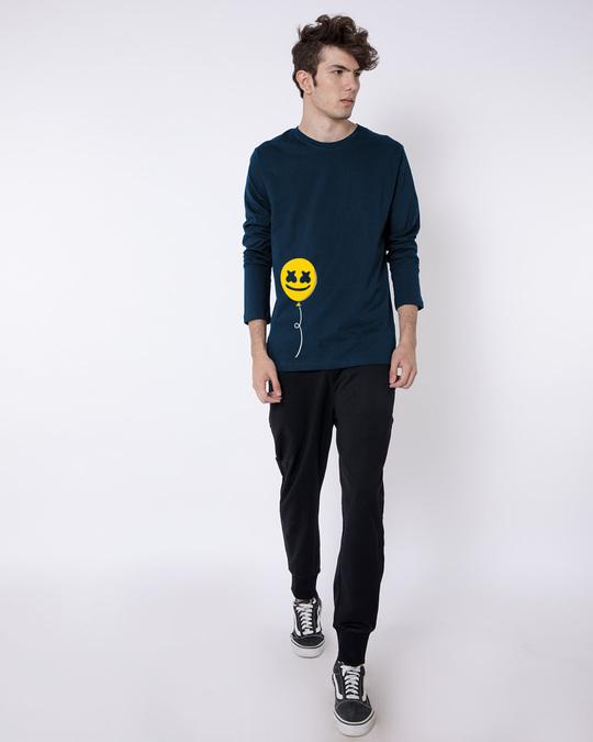 Shop Happier Balloon Full Sleeve T-Shirt