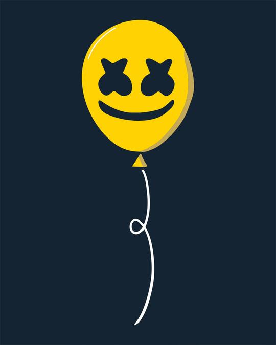 Shop Happier Balloon Half Sleeve T-Shirt