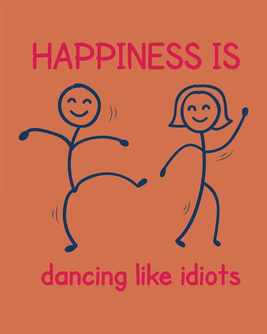 Shop Happiness Is Dancing Fleece Light Sweatshirt-Full
