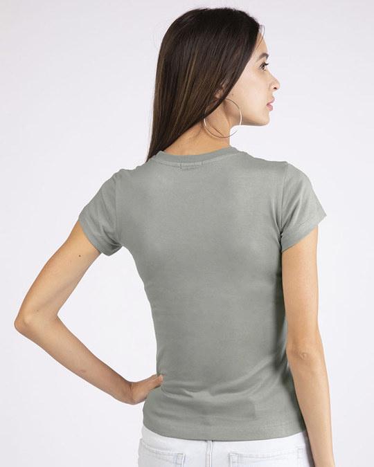 Shop Happiness-penguin Half Sleeve T-Shirt-Back