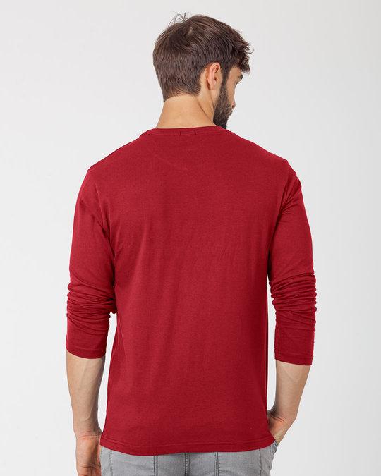 Shop Happy Beat Full Sleeve T-Shirt-Back