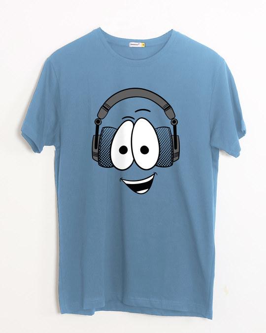 Shop Happy Beat Half Sleeve T-Shirt-Front