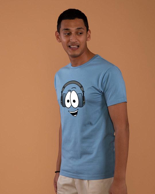Shop Happy Beat Half Sleeve T-Shirt-Design