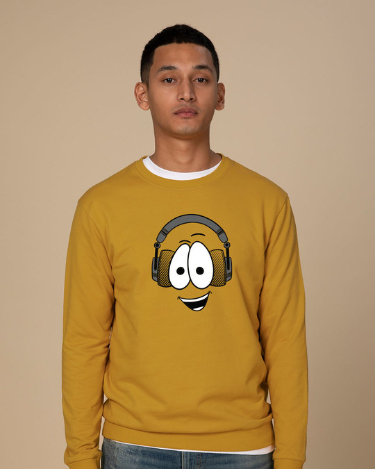 Shop Happy Beat Sweatshirt-Front