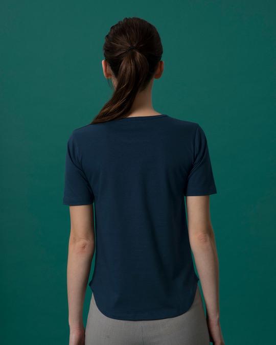 Shop Happy Girls Basic Round Hem T-Shirt-Back