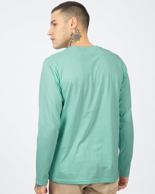 Shop Happy Note Full Sleeve T-Shirt-Back
