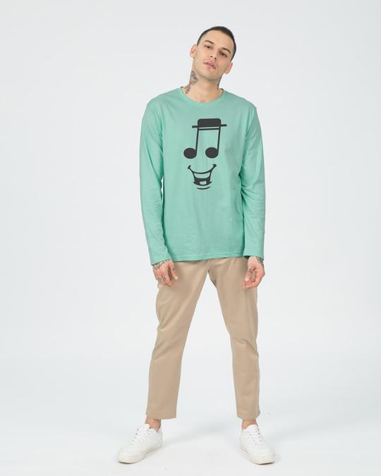 Shop Happy Note Full Sleeve T-Shirt-Design