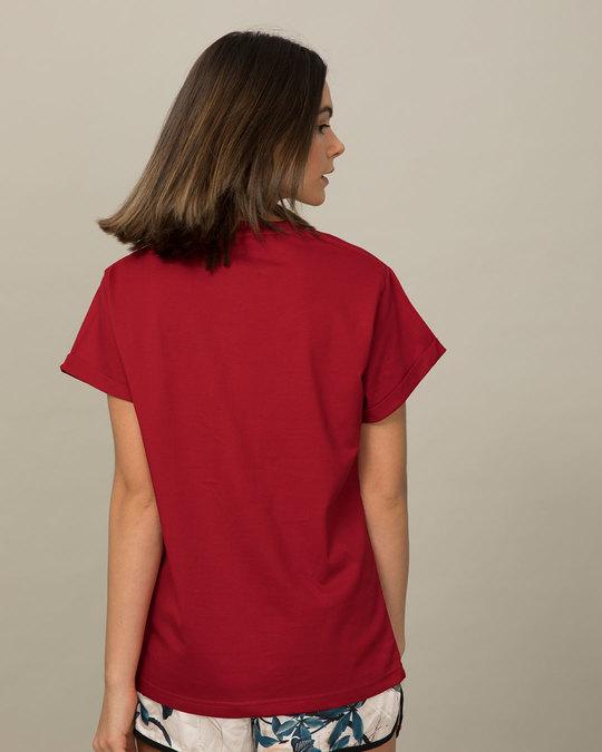 Shop Happy Pooh Boyfriend T-Shirt (DL)-Full