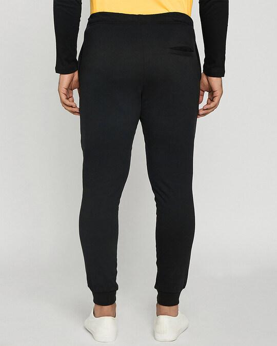 Shop Happy Yellow Stripes Casual Jogger Pants-Design