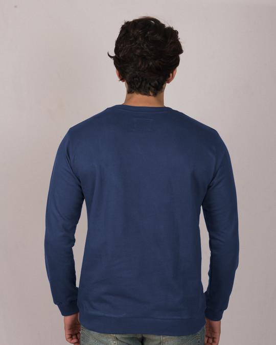 Shop Haq Se Back Bencher Fleece Light Sweatshirt-Back