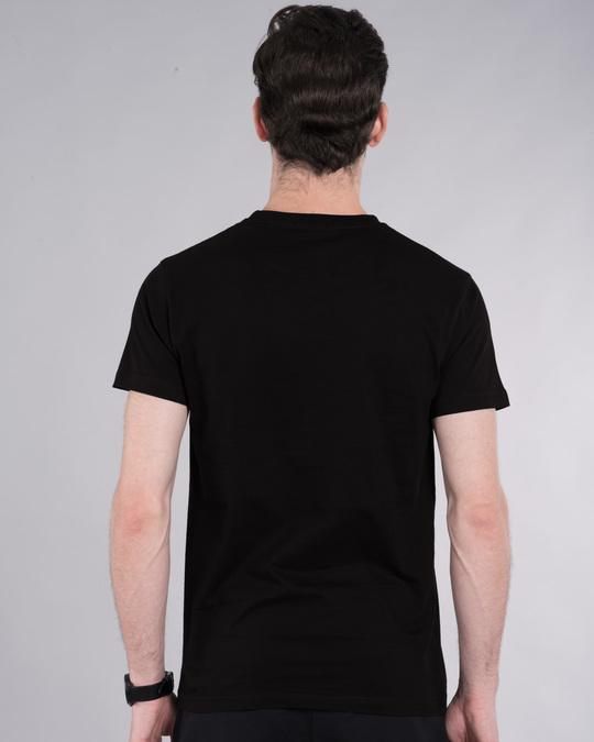 Shop Haq Se Back Bencher Half Sleeve T-Shirt-Back