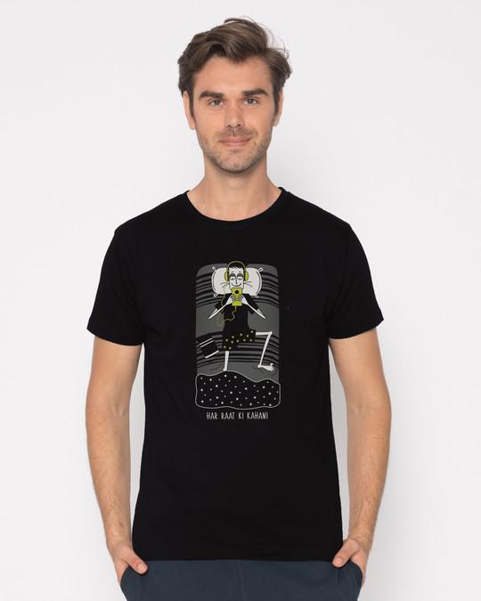 Shop Har Raat Ki Kahaani Half Sleeve T-Shirt-Back