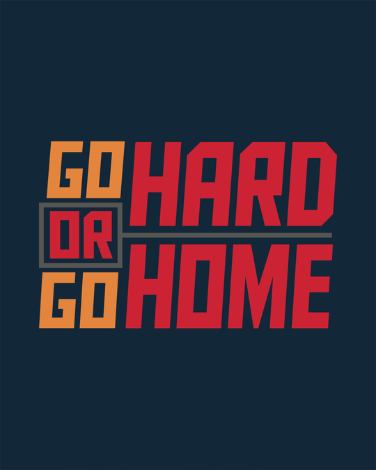 Shop Hard Home Round Neck 3/4th Sleeve T-Shirt