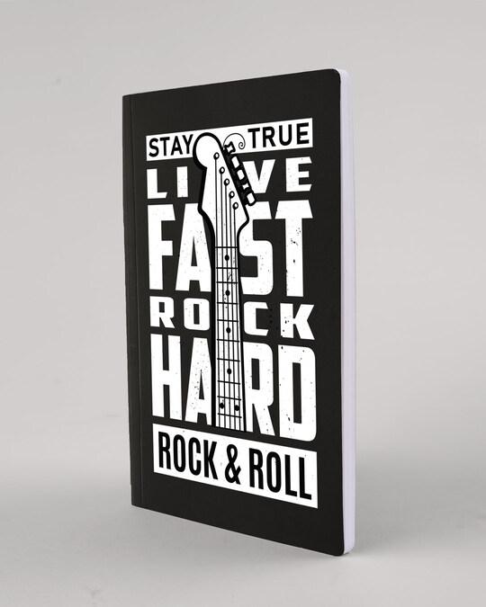 Shop Hard Rock Notebook-Back