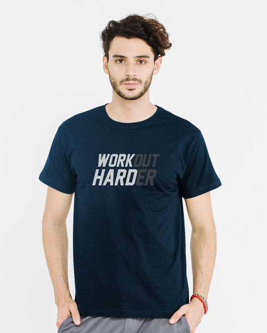 Shop Hard Work Half Sleeve T-Shirt-Back