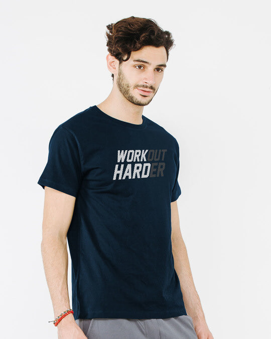 Shop Hard Work Half Sleeve T-Shirt-Design