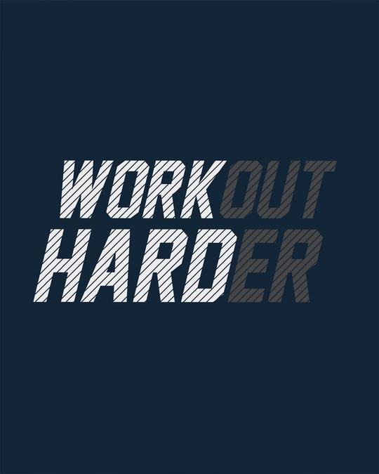Shop Hard Work Round Neck 3/4th Sleeve T-Shirt