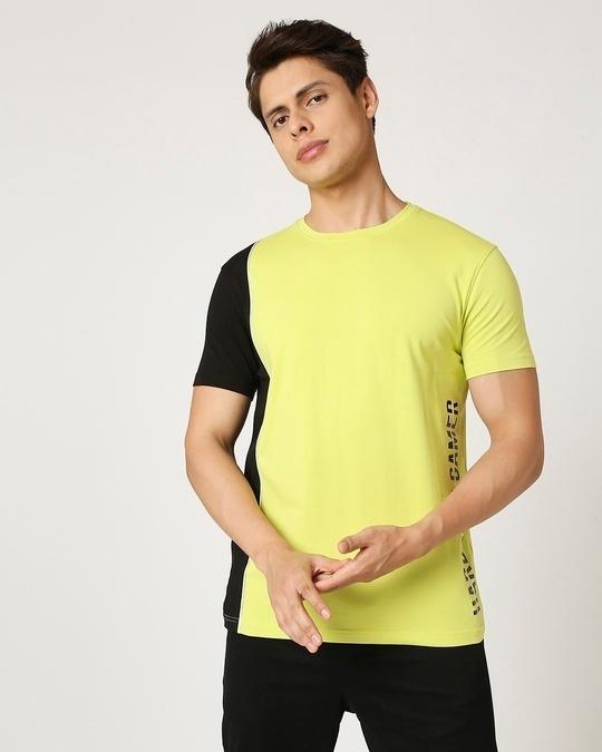 Shop Hardcore Gamer Cut N Sew T-Shirt-Back