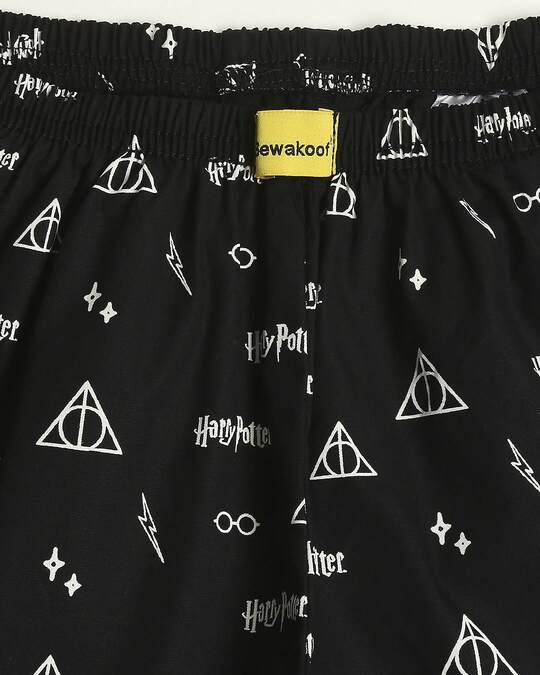 Shop Harry Potter All Over Printed Boxer