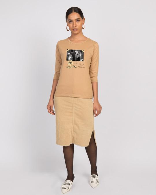 Shop Harry Potter Platform 3/4th Sleeve T-Shirt (HPL)-Full