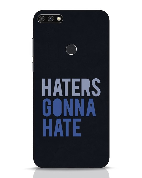 Shop Haters Gonna Hate Huawei Honor 7C Mobile Cover-Front