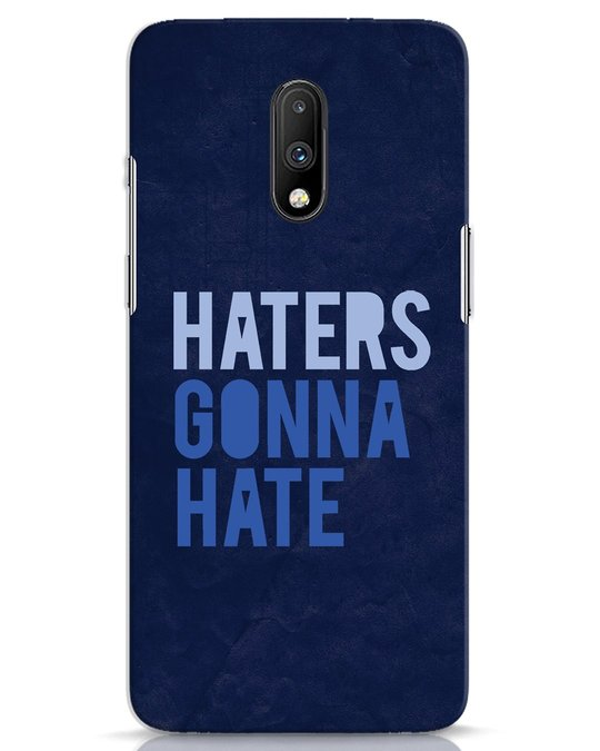 Shop Haters Gonna Hate OnePlus 7 Mobile Cover-Front