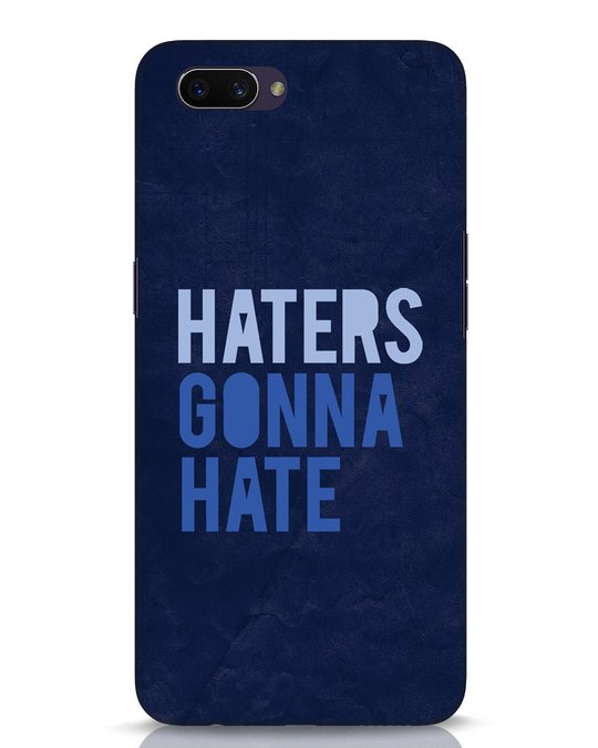 Shop Haters Gonna Hate Oppo A3S Mobile Cover-Front