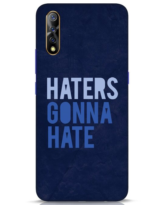 Shop Haters Gonna Hate Vivo S1 Mobile Cover-Front