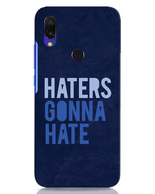 Shop Haters Gonna Hate Xiaomi Redmi 7 Mobile Cover-Front