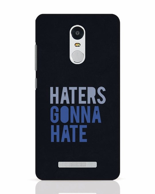Shop Haters Gonna Hate Xiaomi Redmi Note 3 Mobile Cover-Front