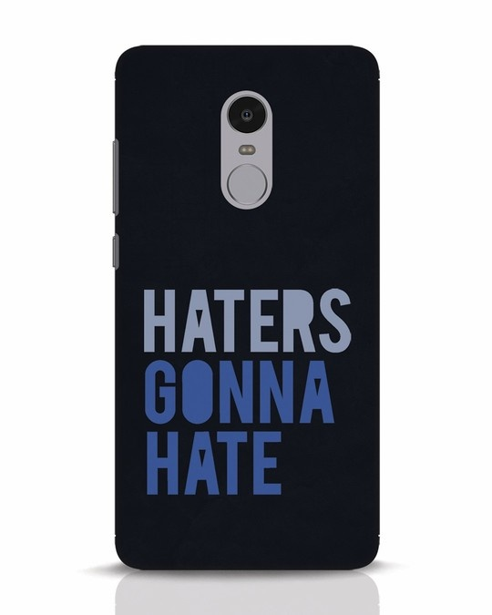 Shop Haters Gonna Hate Xiaomi Redmi Note 4 Mobile Cover-Front