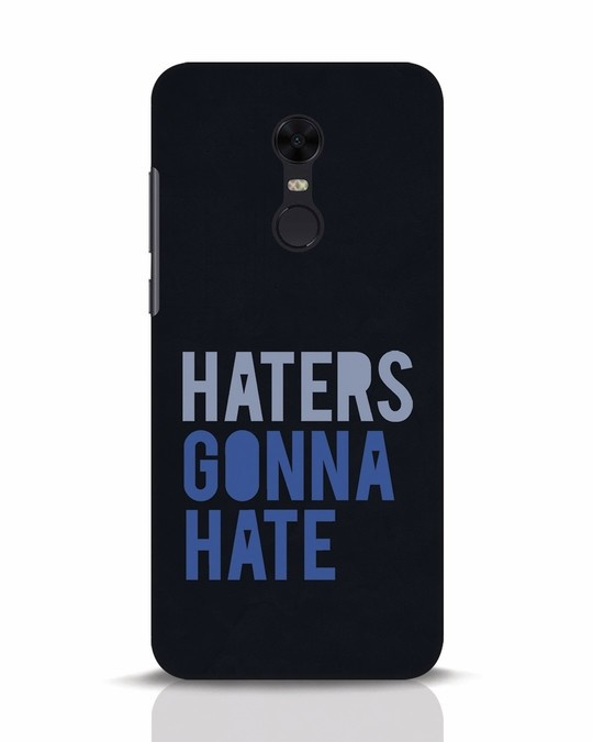 Shop Haters Gonna Hate Xiaomi Redmi Note 5 Mobile Cover-Front