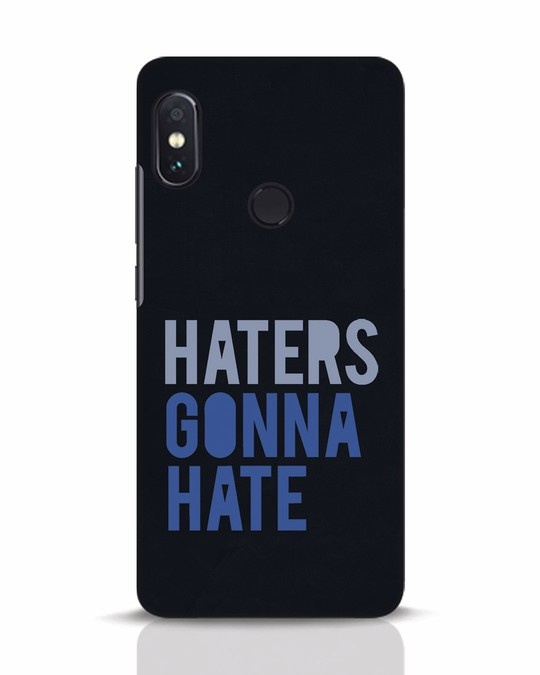 Shop Haters Gonna Hate Xiaomi Redmi Note 5 Pro Mobile Cover-Front