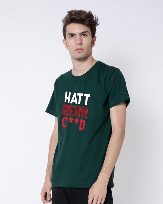 Shop Hatt Bc Half Sleeve T-Shirt-Full