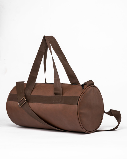 Shop Havana Brown Duffle Bag-Back