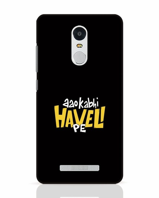 Shop Haveli Xiaomi Redmi Note 3 Mobile Cover-Front