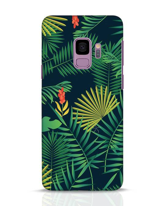 Shop Hawaiian Samsung Galaxy S9 Mobile Cover-Front
