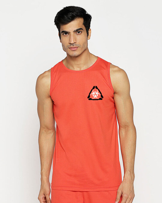 Shop Hazadous Vest Smoke Red-Back