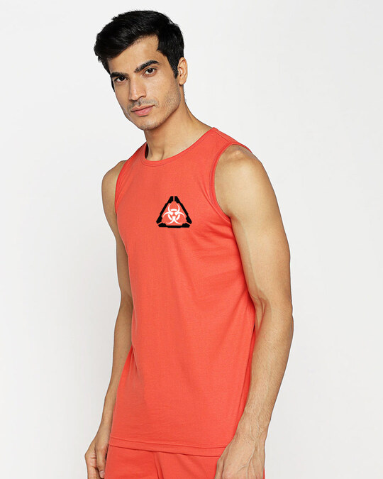 Shop Hazadous Vest Smoke Red-Design