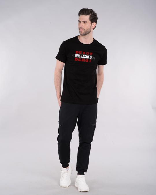 Shop Hbeast Unleashed Half Sleeve T-Shirt-Design