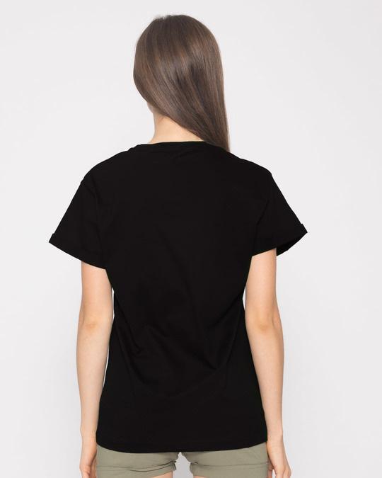 Shop Headphone Jack Guy Boyfriend T-Shirt-Full