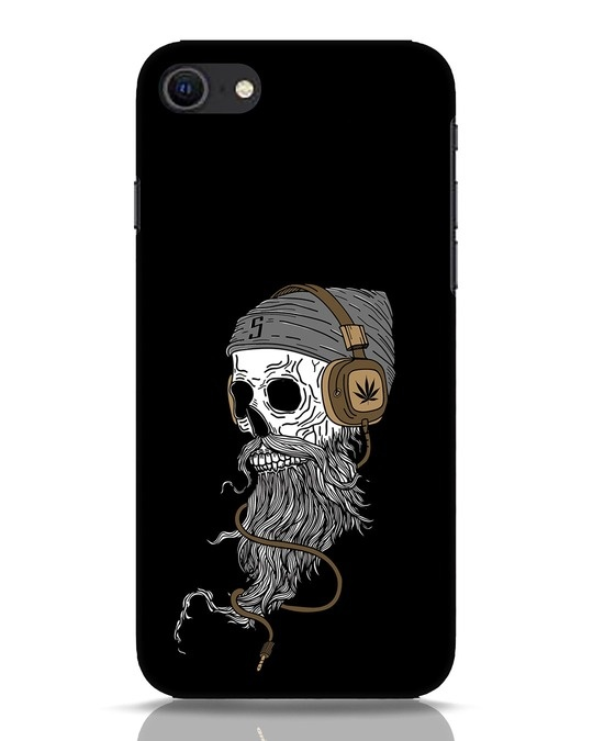 Shop Headphone Jack iPhone SE 2020 Mobile Cover-Front