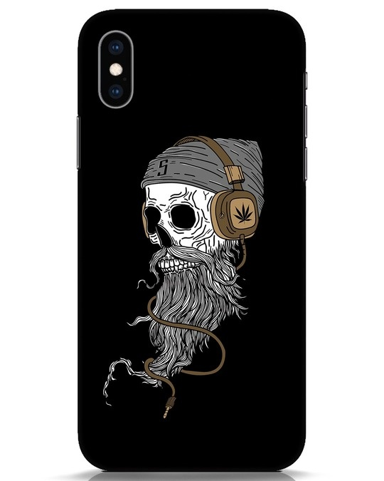 Shop Headphone Jack iPhone XS Mobile Cover-Front