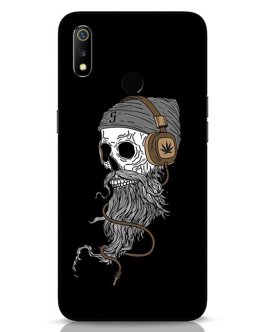 Shop Headphone Jack Realme 3 Mobile Cover-Front