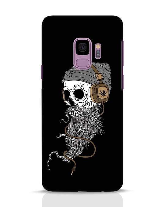 Shop Headphone Jack Samsung Galaxy S9 Mobile Cover-Front
