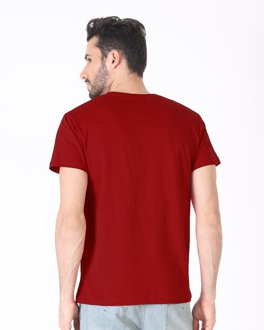 Shop Headphone Penguin Half Sleeve T-Shirt