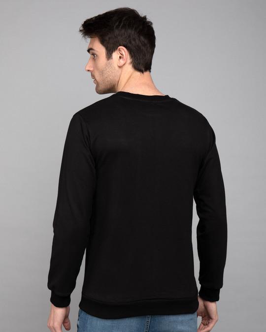 Shop Heart Chip Fleece Sweaters-Back