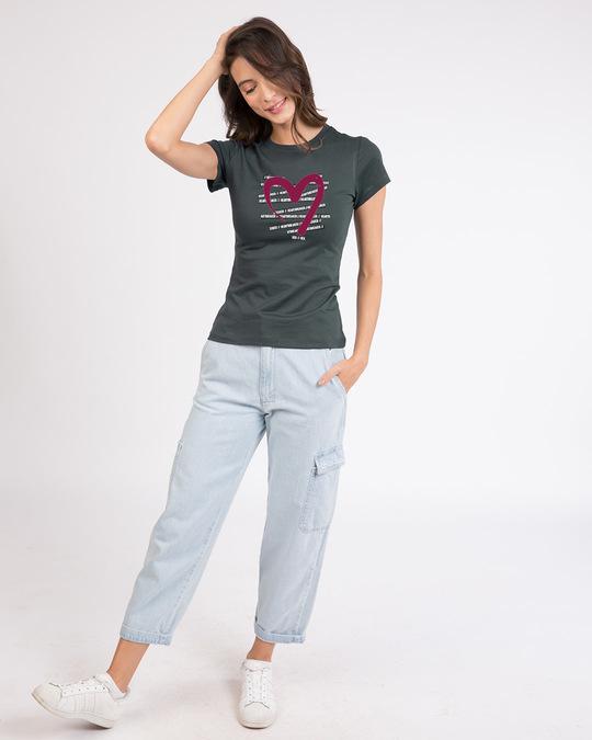 Shop Heartbreaker Half Sleeve T-shirt-Design
